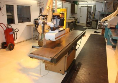 Woodwork Workshop Spindle Moulder